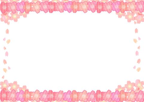 Cherry Blossom Frame (Girly)