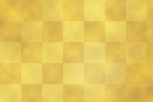 Loose golden checkered pattern