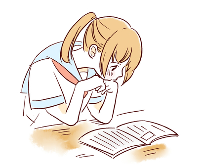 책을 읽는 여자