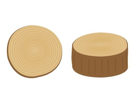 Commercial free illustration of simple tree rings