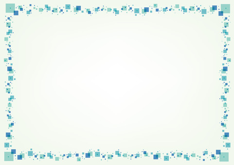 Summer dot bubble frame background picture