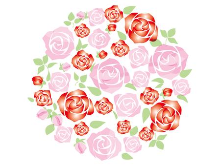 薔薇の花シンプル