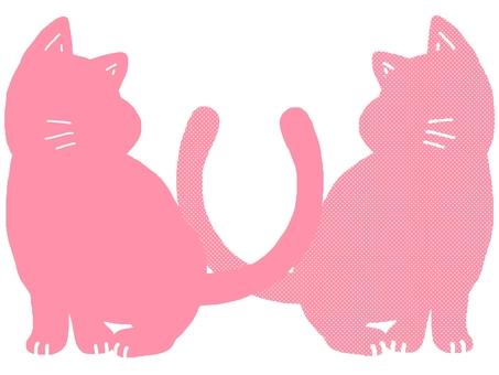 Cat animal monotone color tone