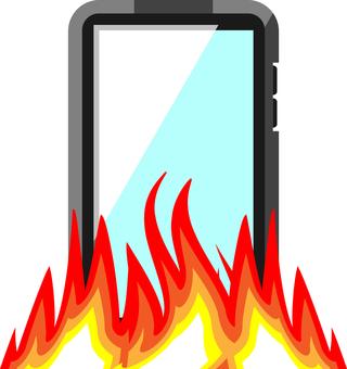 SNS flames
