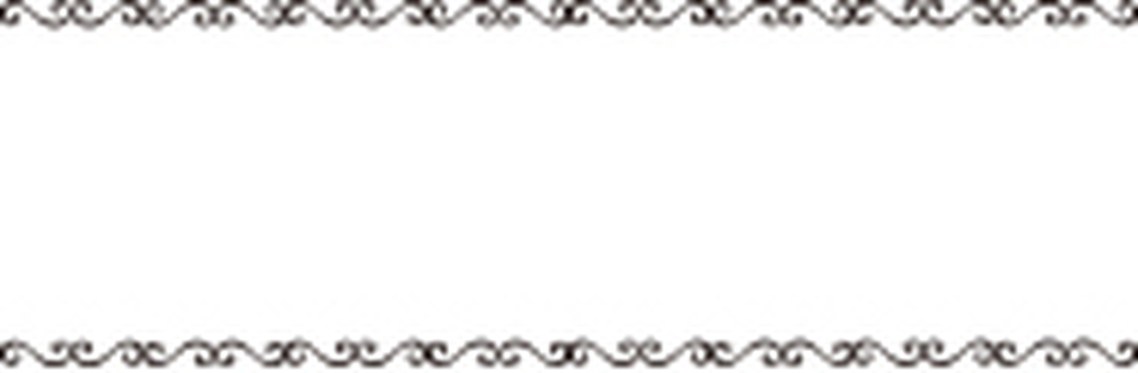 Decorative line frame