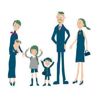 가족 입학식 1