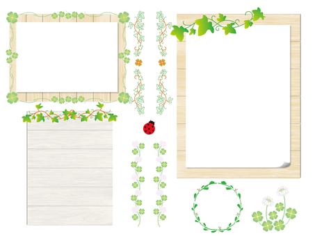 框架綠色和標誌1