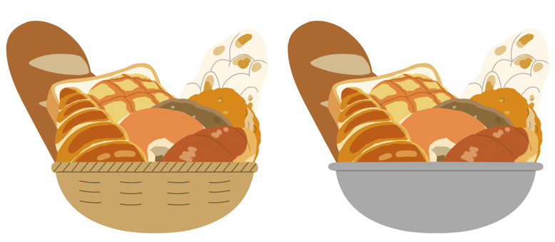 【Stuffing】 Cereals (bread) * No main line