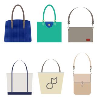 Illustration of a bag bag