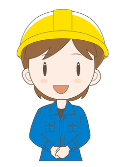 Female workshop worker