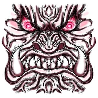 Furious face parts