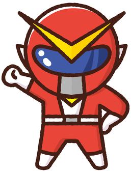 Material Sentai Five Jar <Red>
