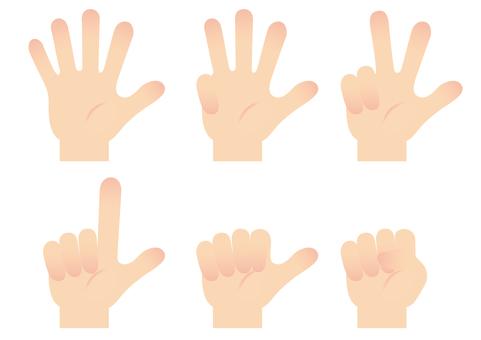 손가락 아이콘 14