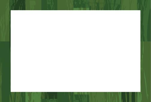 목재 프레임 _ 녹색