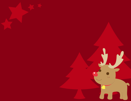 Christmas _ background red