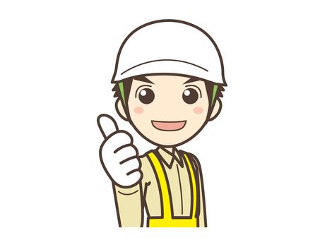 A011_現場作業の男