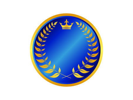 Medal icon 16 (blue)