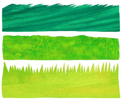 Various grass set