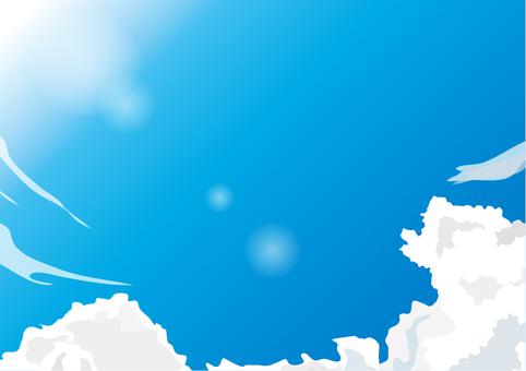 봄의 하늘 3