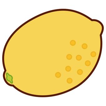檸檬的插圖