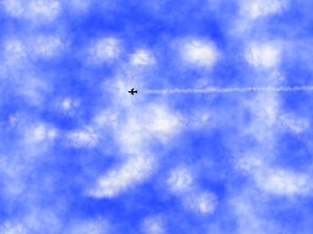 Flight aircraft cloud E0237