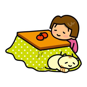 Otaku and a girl (Sorry ver.)