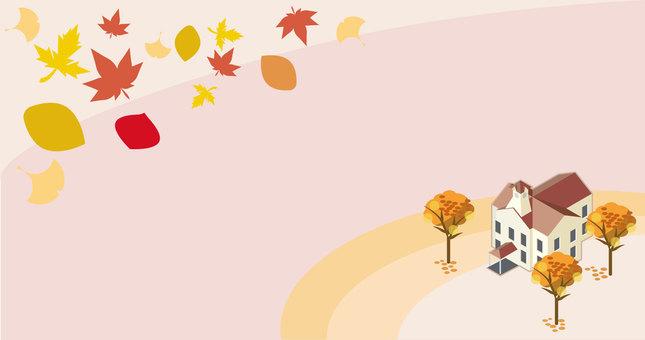 가을 삿포로 시계탑