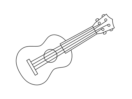 Ukulele (line drawing)