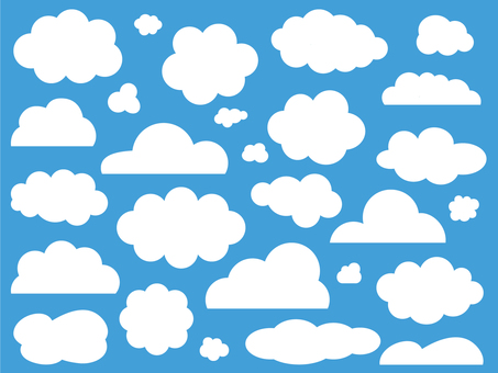 Various clouds (flat)