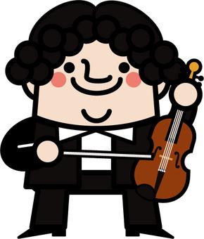 아저씨 요정 바이올리니스트