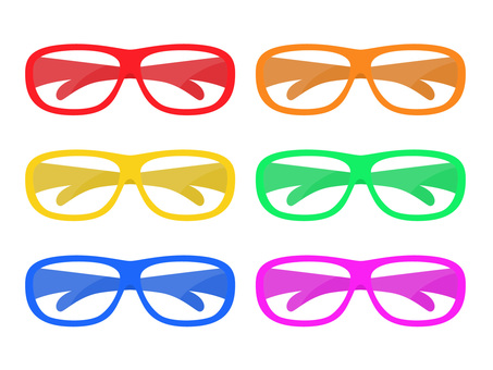 Color variations of eyeglasses