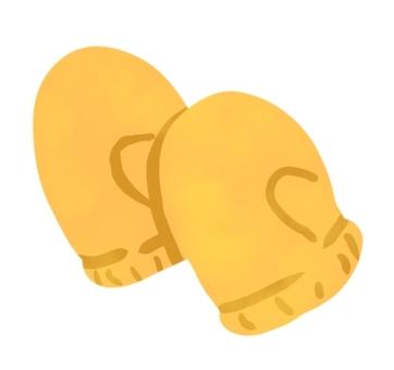 Yellow gloves
