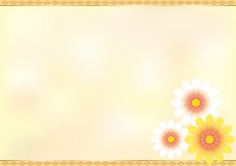 Flower pattern chrysanthemum flower 1