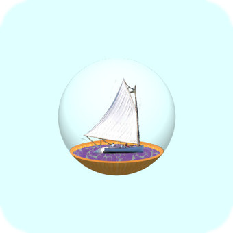 Glass container (yacht)