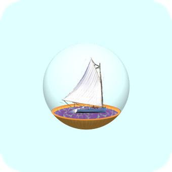 玻璃容器(遊艇)