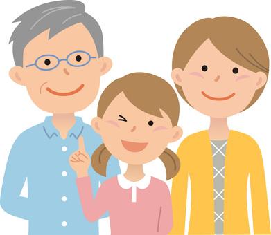 80701.二世代家族,三人2