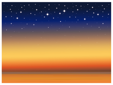 Starry background illustration