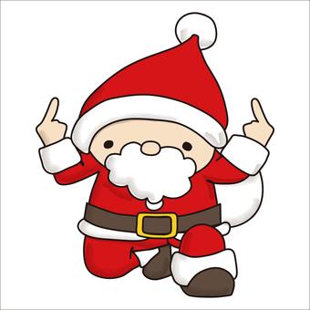 Pointing Santa 6