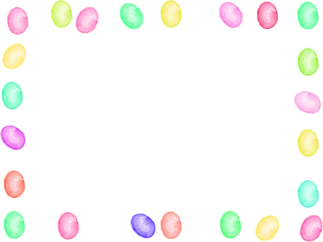 Candy with watercolor touch