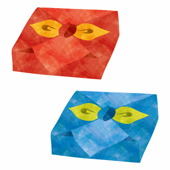 Furoshiki wrapping 2 kinds