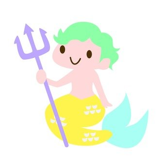 Mermaid boy