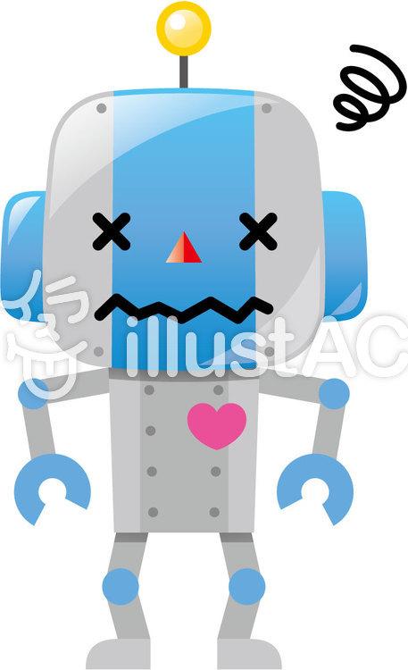 壊れたロボットイラスト No 1409235無料イラストならイラストac