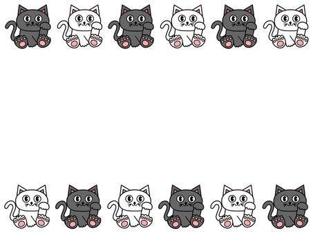 고양이 프레임 / 테두리