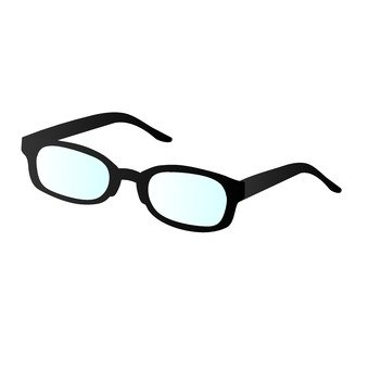 Black edge glasses
