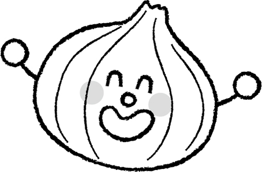 Onions B & W