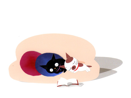 Ao and Pi's chilling nap ②