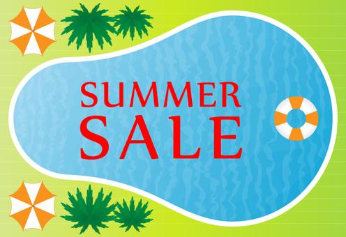 Resort pool (summer sale)