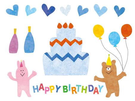 生日蛋糕男孩生日