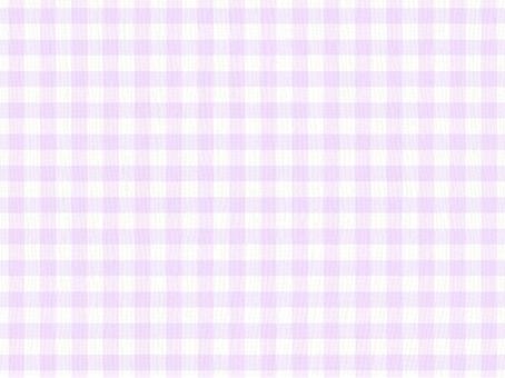Cloth of a plaid purple purple