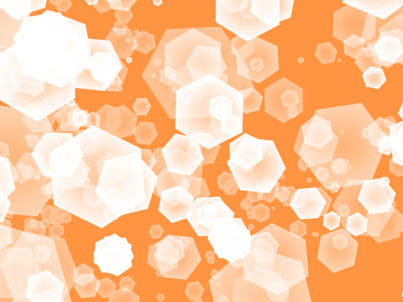 Hexagon Orange
